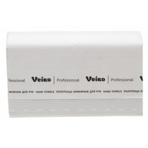 KV205 - полотенце бумажное  для рук V-сложение Veiro Professional Comfort, 200 листов, арт.KV205