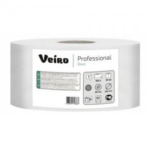 Туалетная бумага в больших рулонах  MAXI Veiro Professional Basic, 420 метров, арт. MAXI